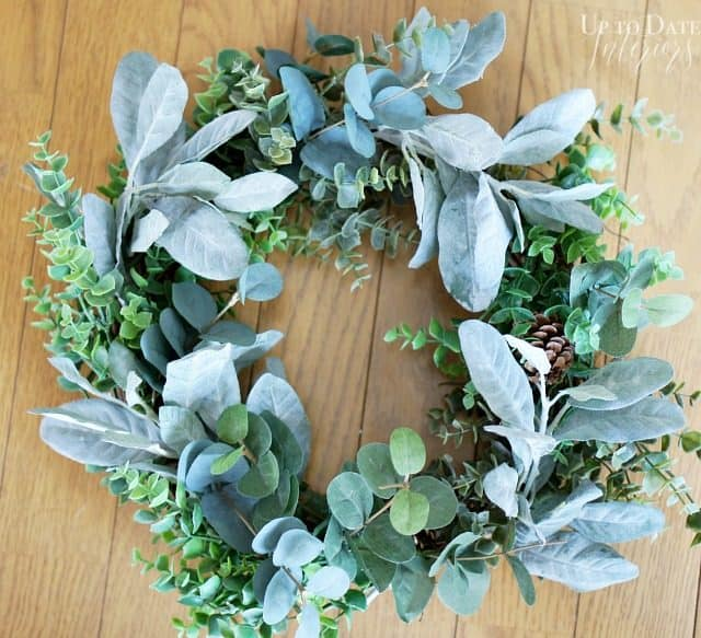 wreath diy steps