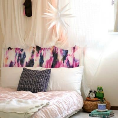 How to be guest ready in a small space