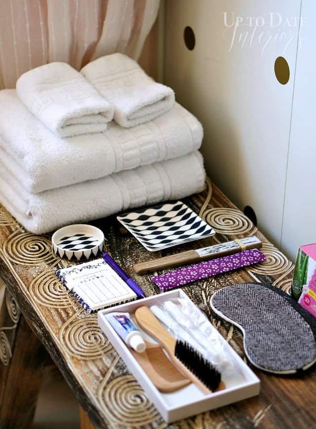 Tips for hosting overnight guests in a small space