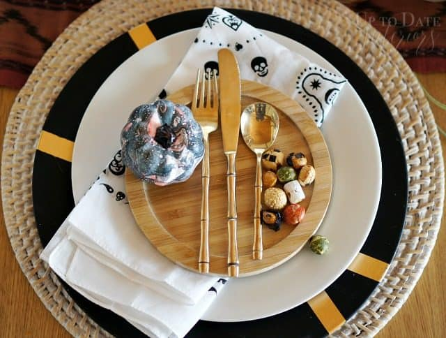 shop your house easy halloween table tablescape