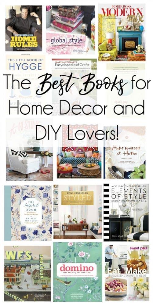 home decor and craft books