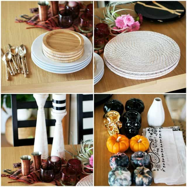 table setting materials