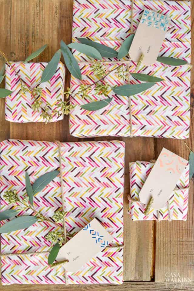 casa watkins living DIY gift tags