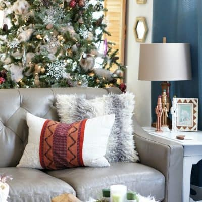 A Chic and Global Christmas Home Tour and Giveaway!
