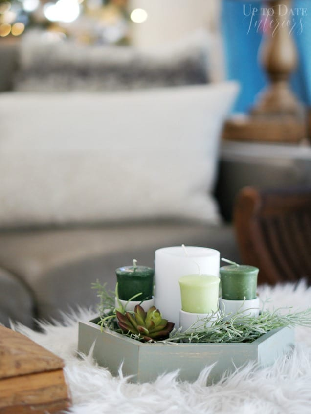 Try a DIY advent wreath for modern Christmas decor