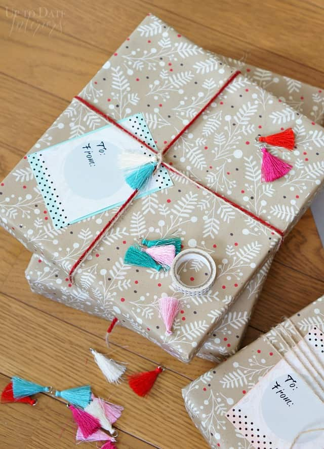 Make Big And Beautiful Christmas Gift Tags For Free Up To