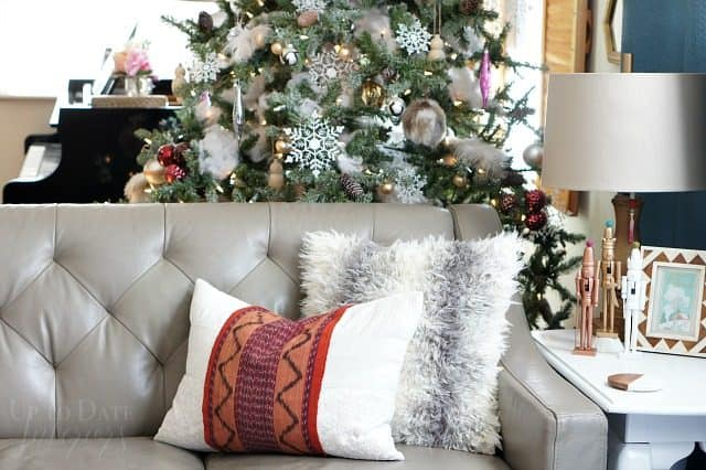 globally inspired decor for a modern and Chic Christmas
