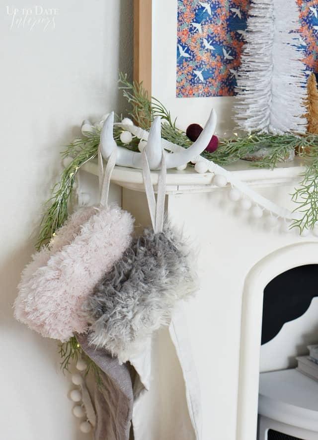 antler stocking holders