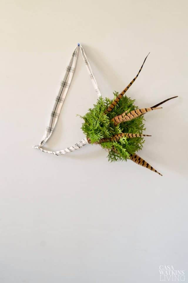 casa watkins living simple evergreen scandi wreath