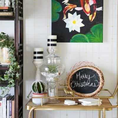 Winter Eclectic Home Tour:  Dining Room