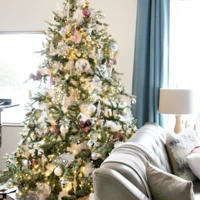 My Home Style: Handmade, Global, Eclectic Christmas Tree