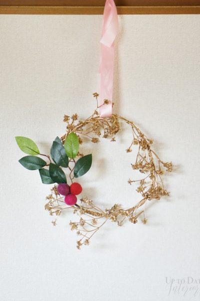 boho-holiday-wreath-3-steps