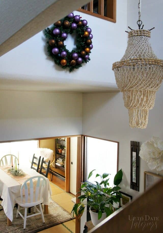 foyer-christmas-shell-pendant