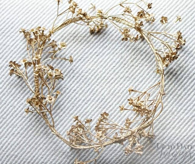 gold-boho-wreath-spray-painted