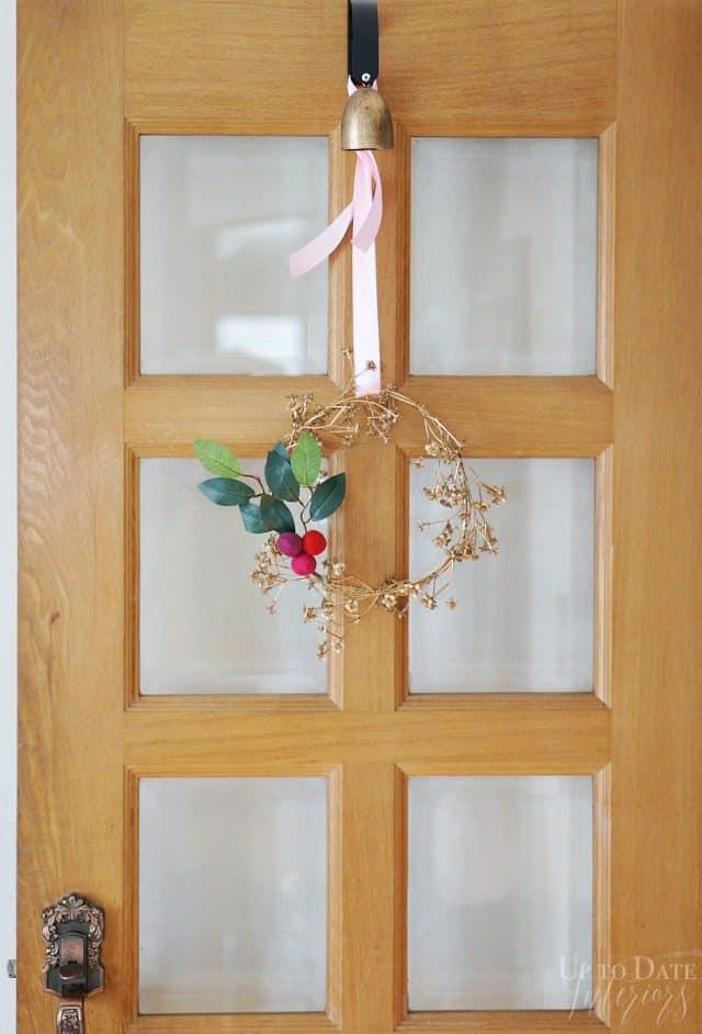 door-tall-DIY bohemian wreath