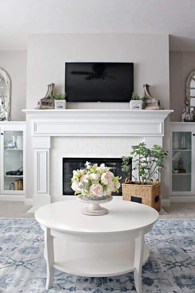winter living room refresh