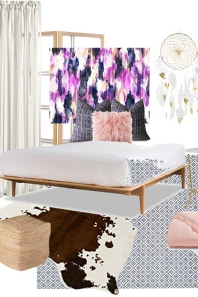 global boho girls room