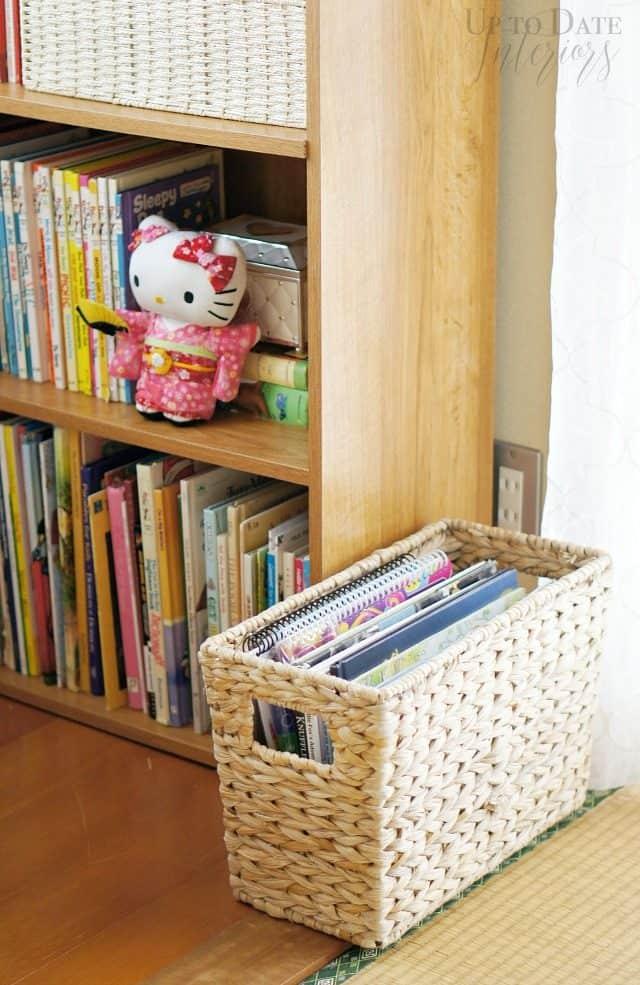 magazine-basket-to-hold-long-books