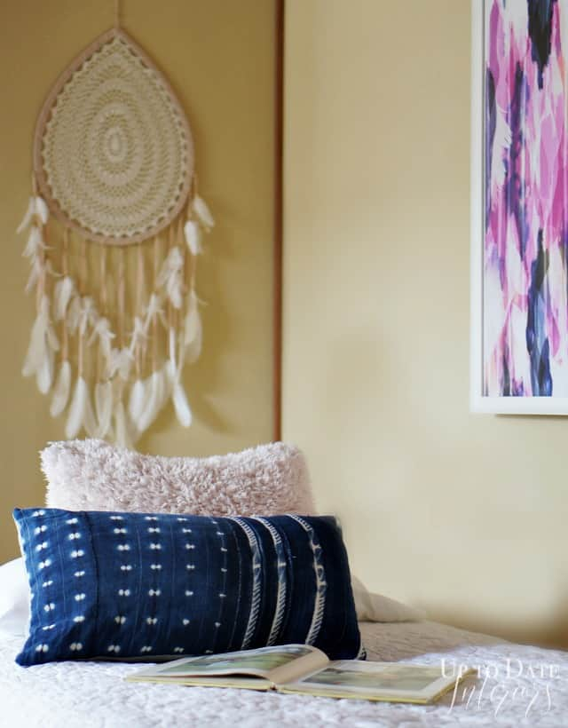 mud-cloth-pillow-girls-room-makeover