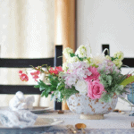 Chic Table Settings Pinterest Blue