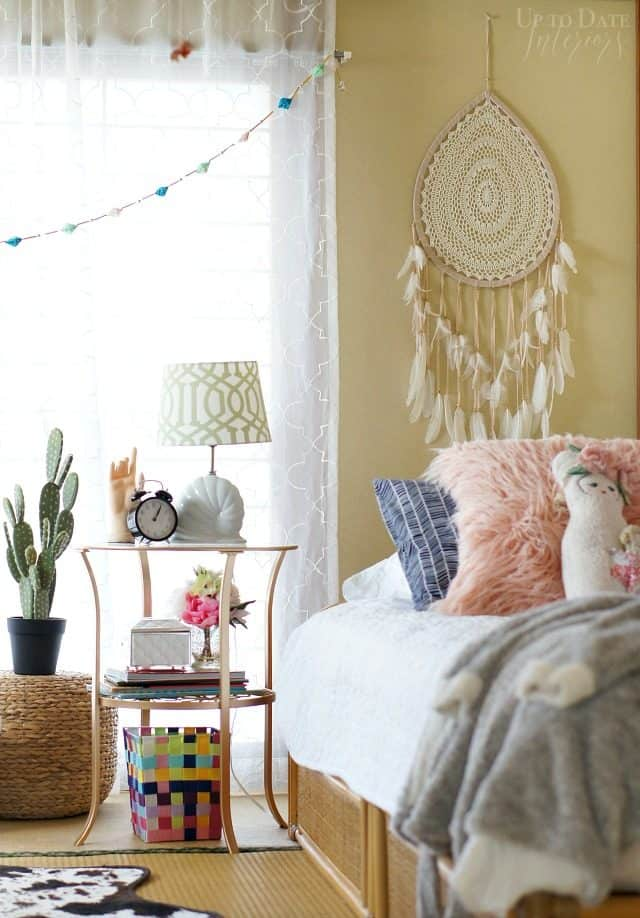Global Bohemian Bedroom Makeover For A Girl Up To Date