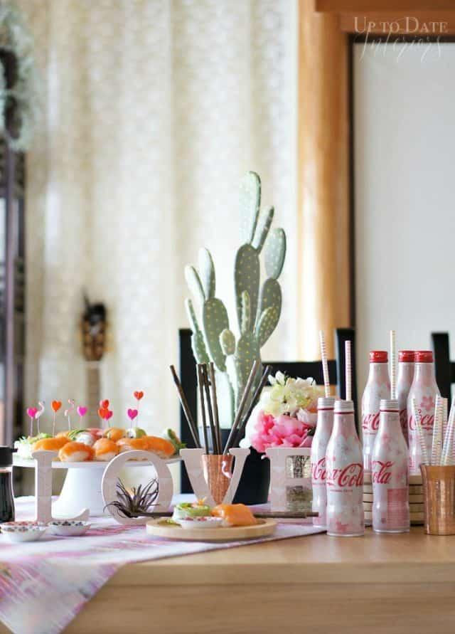 sushi-valentine-day-lunch-diy-centerpiece
