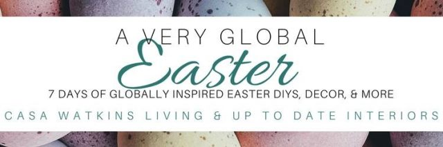 a very global easter