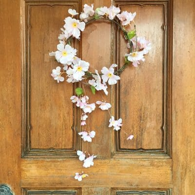 Make a Beautiful Sakura Wreath in 3 Simple Steps!
