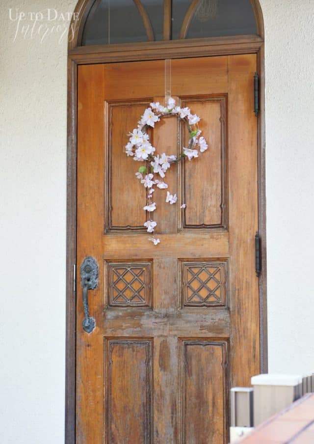 door-hanging-japanese-cherry-blossom