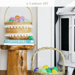 Easter Basket Boho Pinterest Green