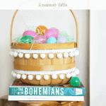 Easter Basket Makeover Pinterest Green