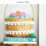 Easter Basket Makeovers Pinterest Black