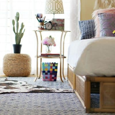 Simple Updates for a Global Boho Girl's Room
