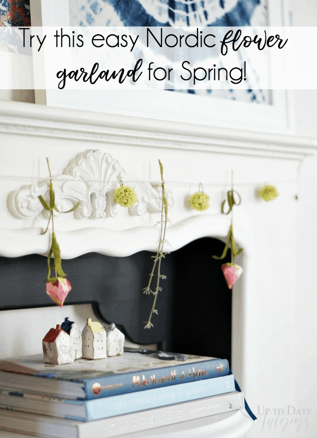 Nordic Flower Garland Easy Diy Spring 640x884