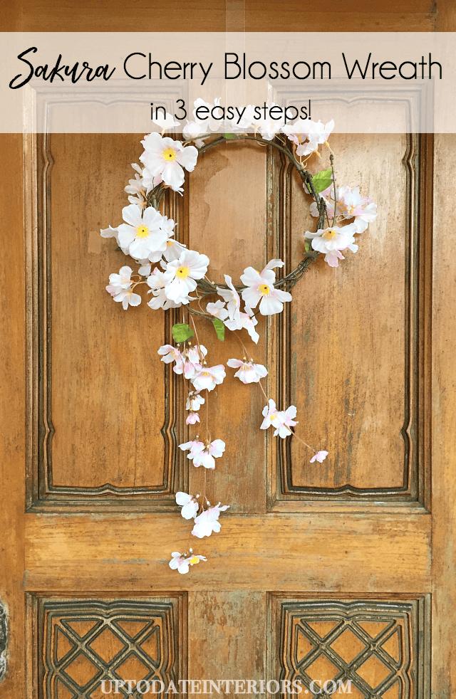 Sakura Cherry Blossom Wreath Pinterest