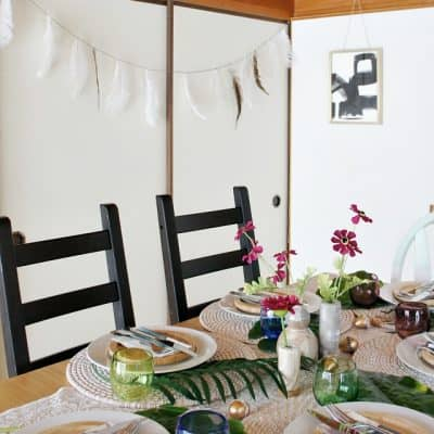 Add Global Style with a Simple Nordic Feather Garland
