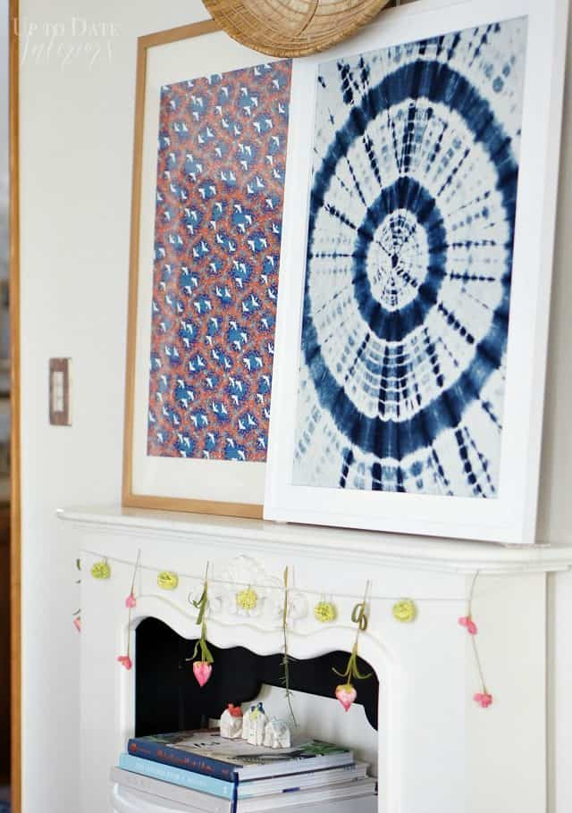 spring-mantel-modern-eclectic