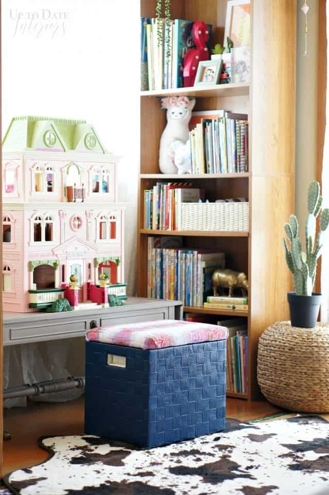 storage-ottoman-makeover-paint-global-fabric