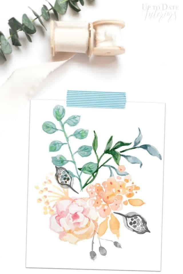 Free Printable Watercolor