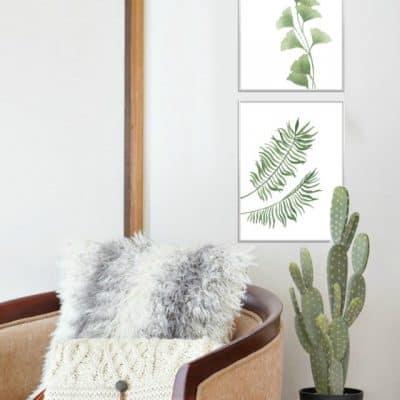 Botanical Prints Styled