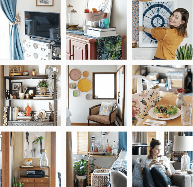 up to date interiors on instagram