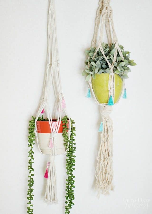 Anthropologie Knock Off Plant Hangers