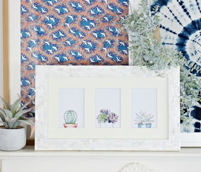 Watercolor Succulents Set Of Printable Art