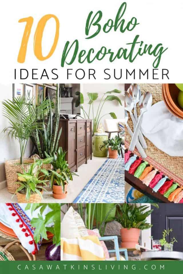 quick summer decorating ideas
