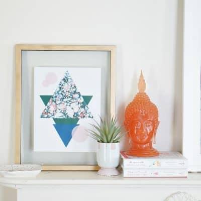 Abstract Printable Art Summer
