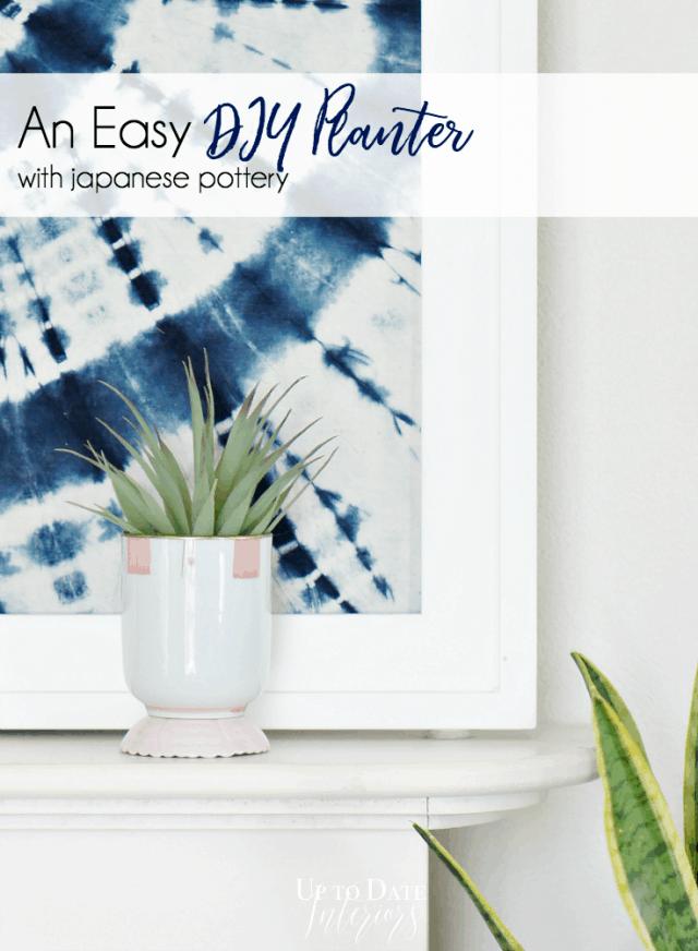 Easy Diy Planter Global Styler