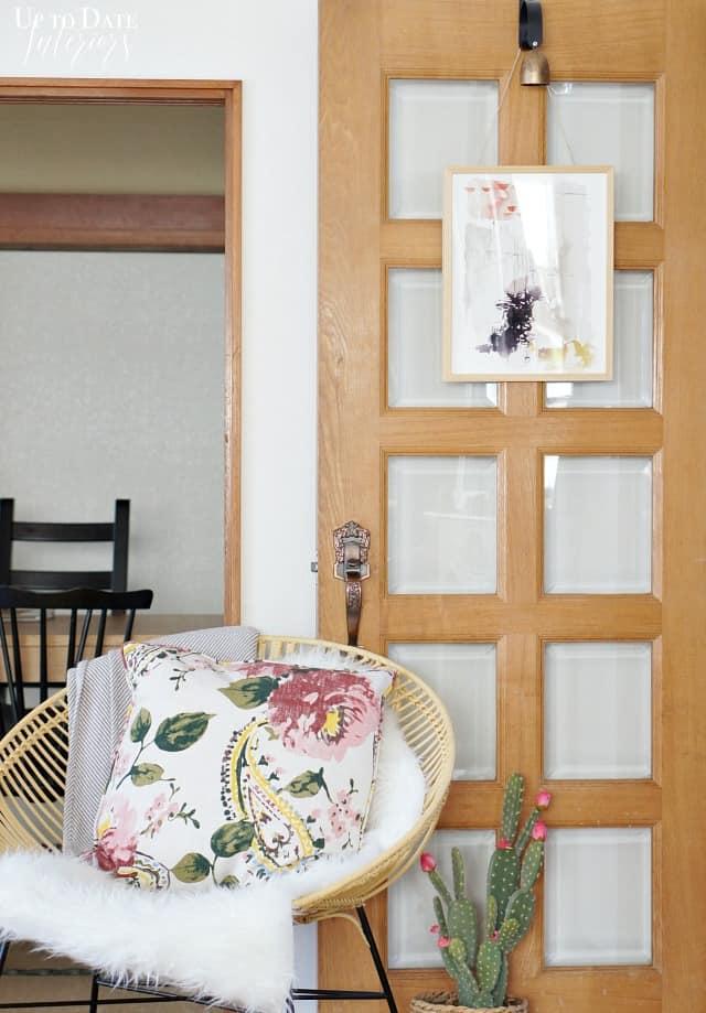 Art Hanging On Door