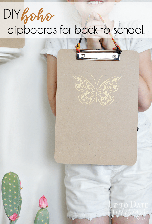 Diy Boho Clipboards Back To School