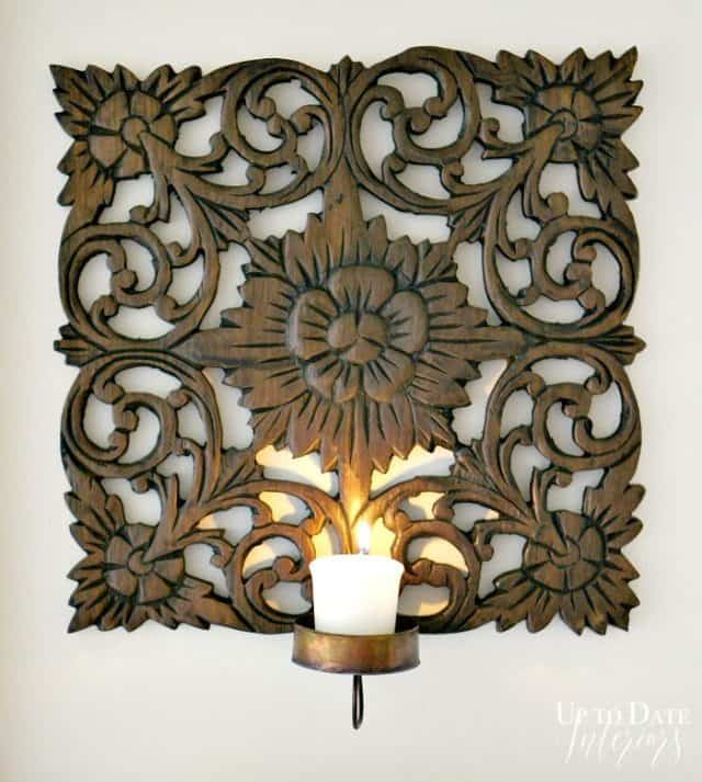 Candle Sconce Square 700