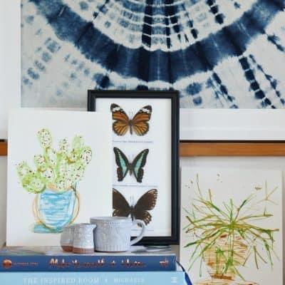 Ink Illustrations Cacti